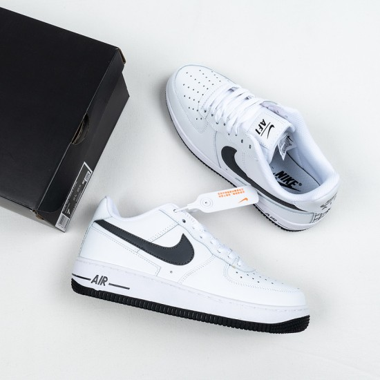 """Best Nike Air Force 1 Low """"Iron Grey"""" White Black DD7113-100 36-45 Shoes"""