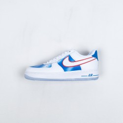 """Nike Air Force 1 Low """"Pacific Blue"""" White Blue Red DC1404-100 36-45"""