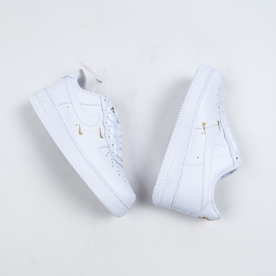 """Buy Nike Air Force 1 Low """"White"""" White Gold CT1989-100 36-45 Shoes"""