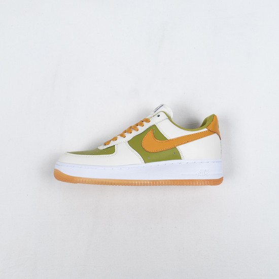 Sale Nike Air Force 1 Low Yellow Green White DC1403-100 36-45 Shoes