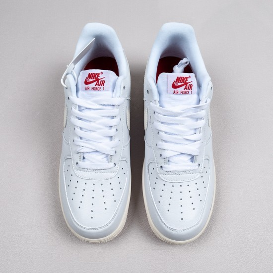 """Discount Nike Air Force 1 Low """"Valentines Day"""" White Red Blue DD7117-100 36-45 Shoes"""